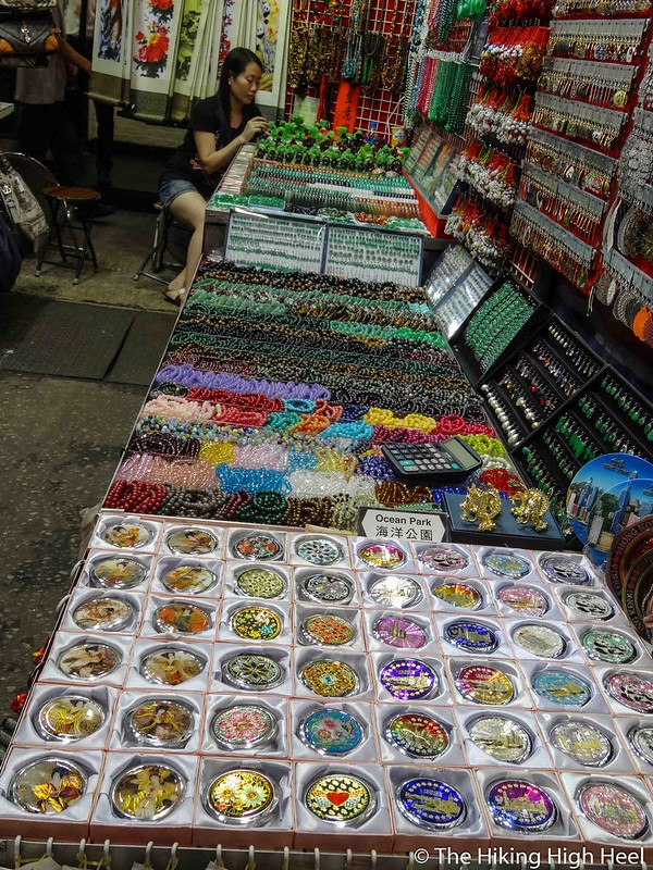 Temple Street Night Market in Hongkong