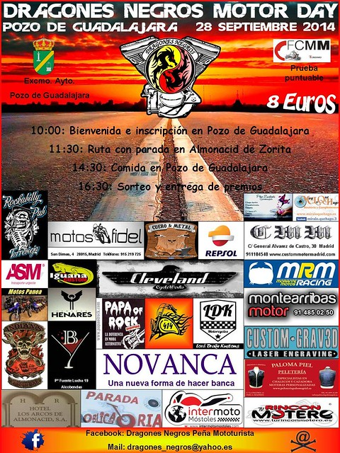 Dragones Negros Motor Day - Pozo de Guadalajara