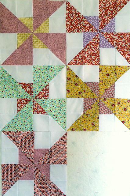 Double Pinwheel Blocks