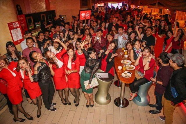 Air Asia Taylor Swift Livery Aircraft Launch Party in Kuala Lumpur