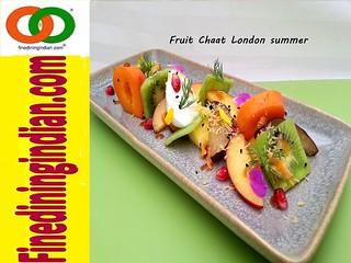 Fruit chaat london summer fruits finediningindian