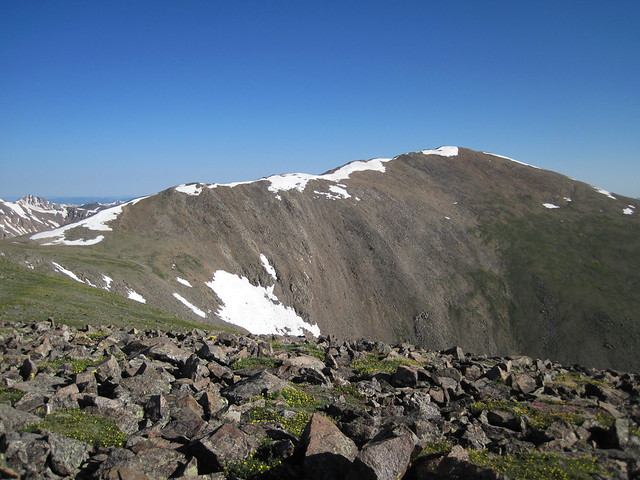 Picture from Mt. Elbert, Colorado