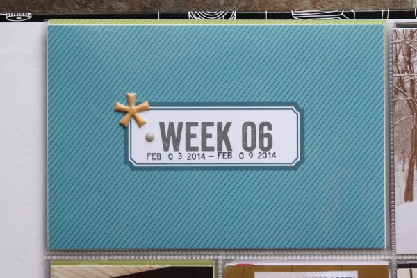 2014 Project Life Week 6