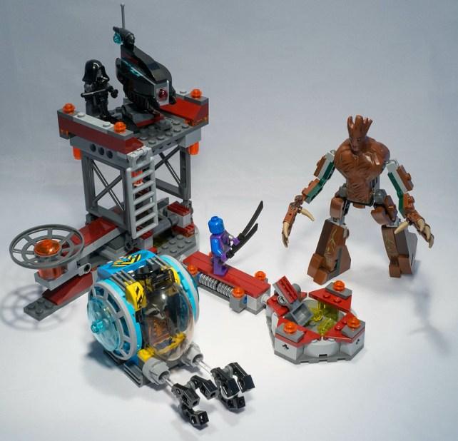 REVIEW LEGO 76020 Marvel Gardiens de la Galaxie - La mission d'évasion