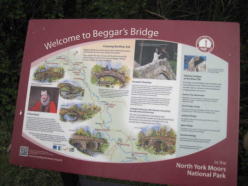 Beggars Bridge Sign