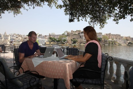 Working in Udaipur, India 2014