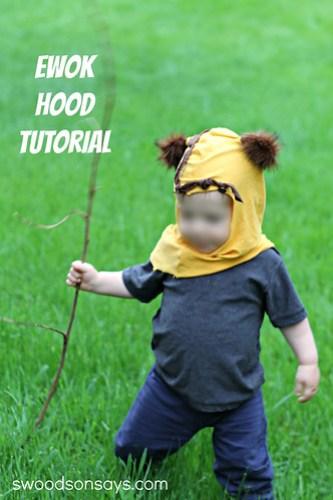 DIY Ewok Hood