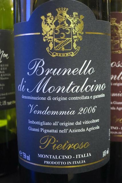 Pietroso Brunello di Montalcino 2006