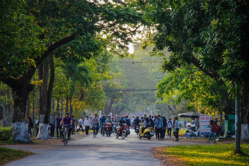 hvordan er det at studere i Vietnam?