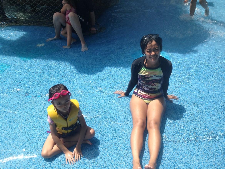 Sentosa Adventure Cove for Aina's 7th birthday!
