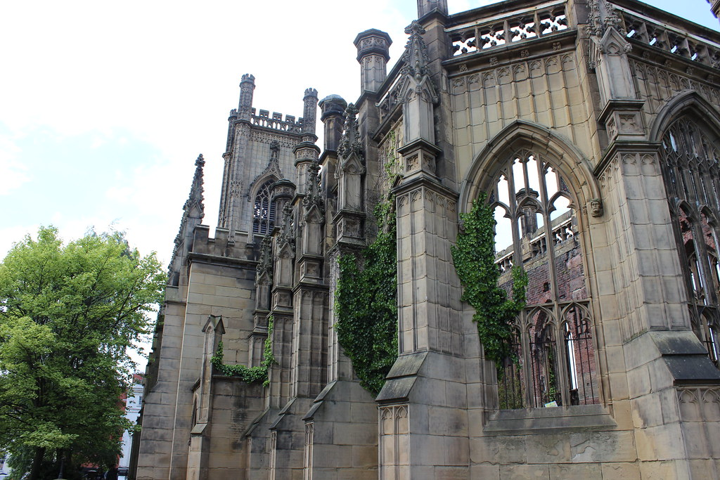 Bombed Out Church, places to visit in liverpool