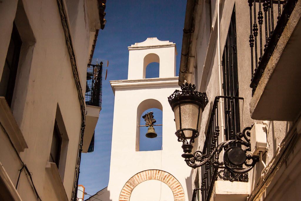 Church & Church Bell in Marbella, Spain