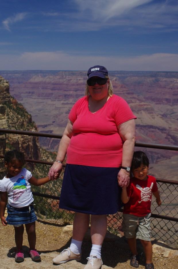 e at the grand canyon