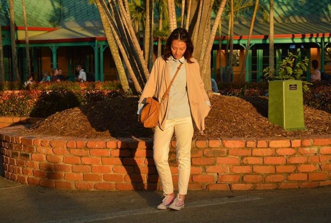 Golden Hour, theme park outfit