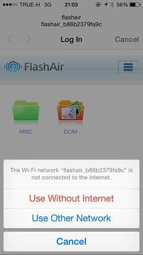 แต่ iOS เรื่องมากนิดนึง ถ้าไม่เลือก Use Without Internet ละก็ จะใช้ App ไม่ได้