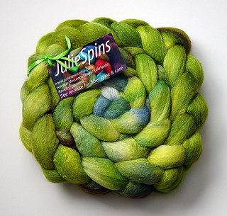 Stash: Spring BFL-Silk from Juliespins