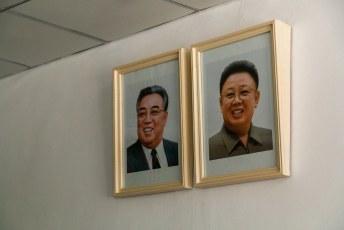 We hadden al zeker vijf minuten deze portretten niet meer gezien, gelukkig hingen er twee in de souvernirshop.