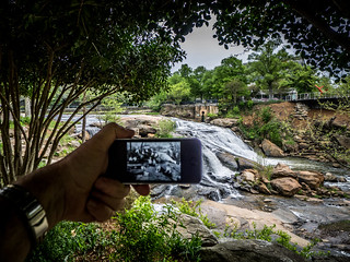 Reedy Falls with Overlay