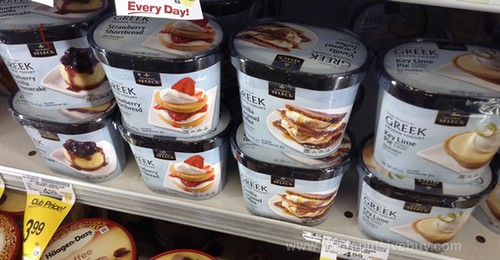 Safeway Select Super Premium Greek Frozen Yogurt