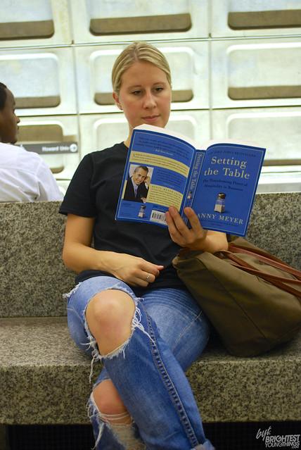 Reading on Metro 3