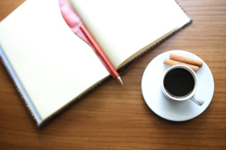 Fill in the Blank Coffee Blogger (free CC usage with credit link to LiveOnceLiveWild.com)