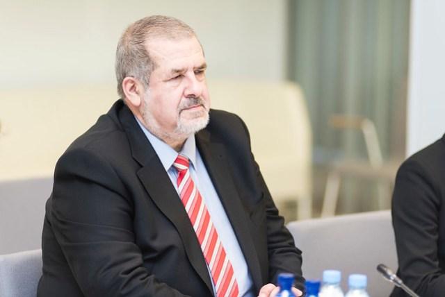 Saeimas priekšsēdētāja Ināra Mūrniece tiekas ar Krimas tatāru pasaules kongresa prezidentu