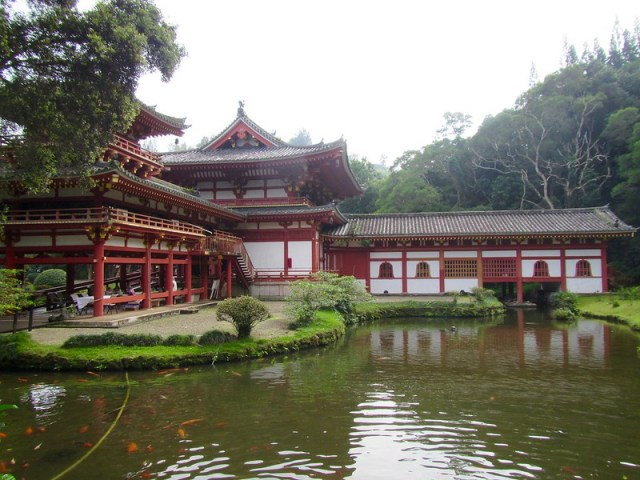 Picture from Byodo-In Temple, Oahu