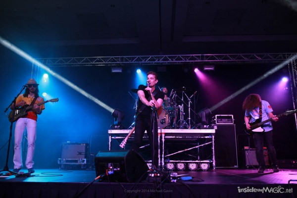 James Marsters and The Ghost of the Robots Band at MegaCon 2014