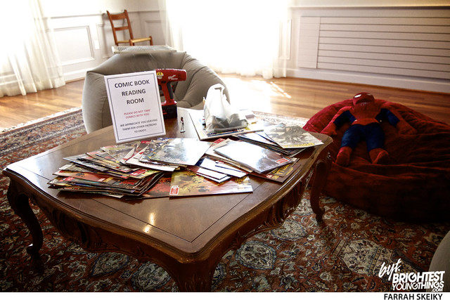 The Art of Comic Books Mansion at Strathmore Brightest Young Things Farrah Skeiky 68