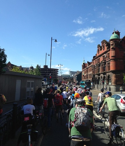Big Toon Ride 2014 #space4cycling Credite Russell Bayliss (@rustybonkers)