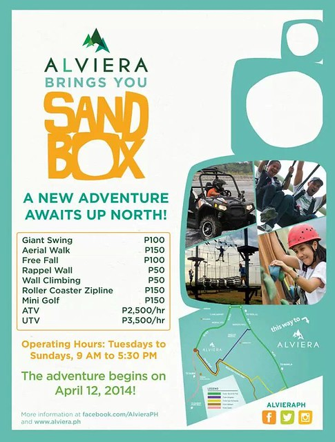 Sandbox Adventure at Alviera ratr