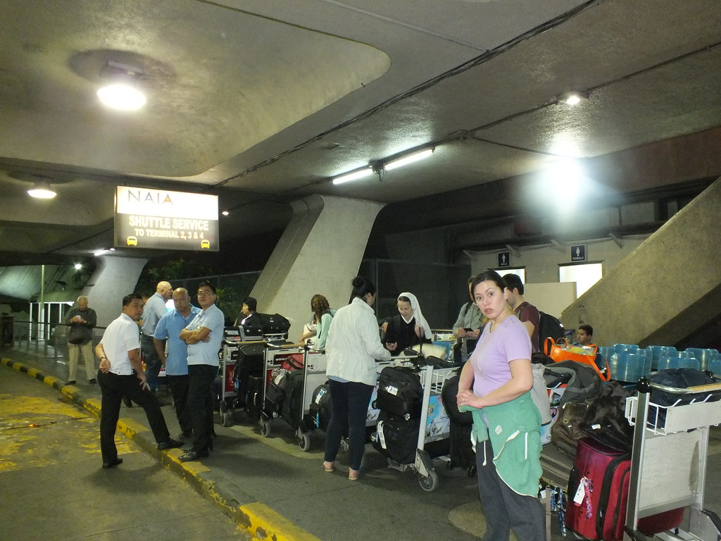 Arrival for General Santos City Surgical Mission - 15 February 2014
