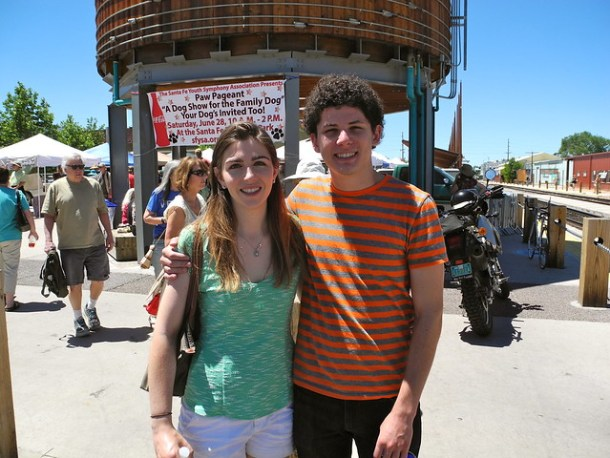 Zach and Hilary