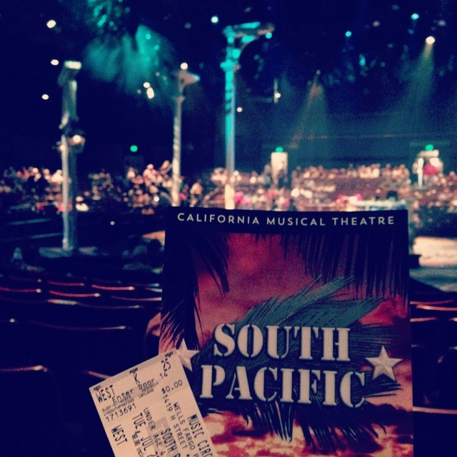 Bali Ha'i is calling my name! #southpacific #lovemusicals #sacmusicals
