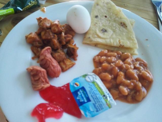 Salt Beach Hotel breakfast