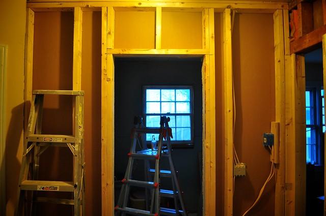 2012-02-15 Bathroom insulation and sheetrock 01