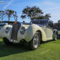 1939 Delage D8-120S Coupe at the Amelia Island Concours d'Elegance