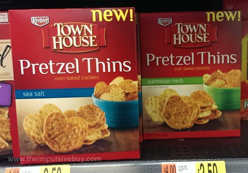 Keebler Town House Pretzel Thins