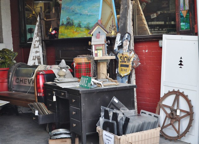 Vintage Finds at Every Turn at Black Dog Salvage, Roanoke, Va.