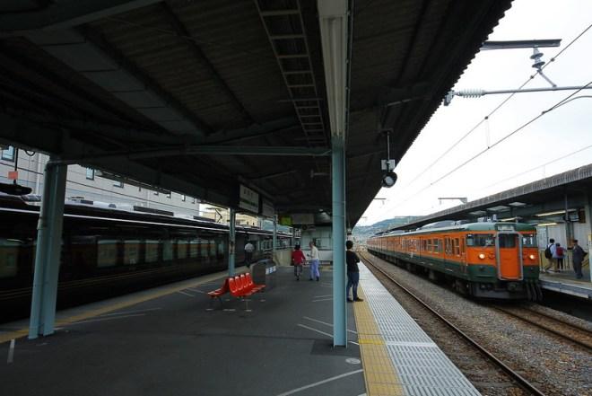 E655系と115系(宇都宮行)