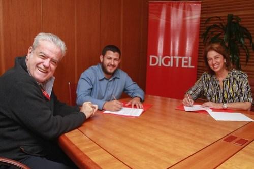 Firma Convenio Digitel Alcaldia Hatillo Digisalud