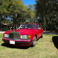 Rolls-Royce Silver Spur IV Mulliner Park Ward at Festivals of Speed Amelia Island, 2014