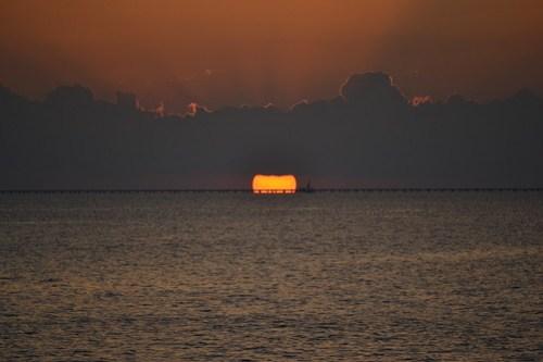 008 Lake Pontchartrain Sunset
