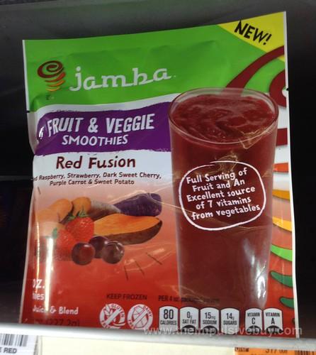 Jamba Fruit & Veggie Smoothies Red Fusion