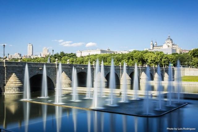 Fuentes de Madrid Río