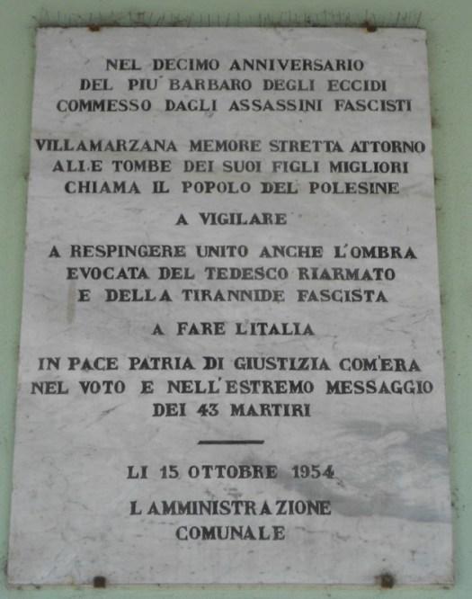lapide Villamarzana 43