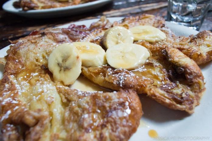 Rum Banana Pancakes at Black Swan New York