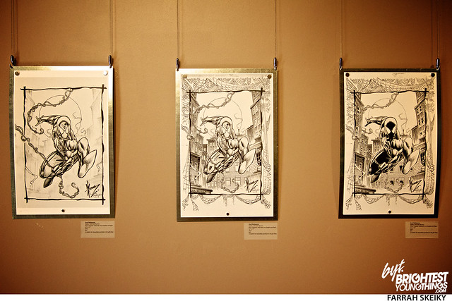 The Art of Comic Books Mansion at Strathmore Brightest Young Things Farrah Skeiky 40