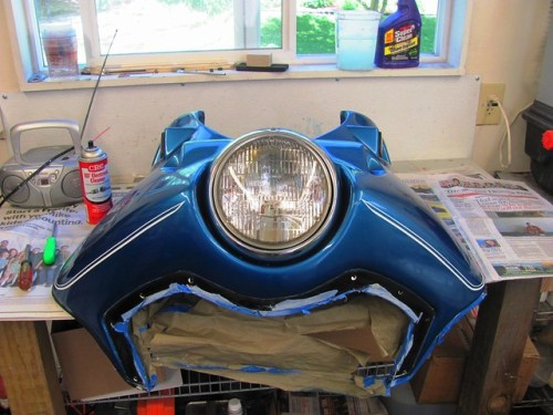 Finished Headlight Installation