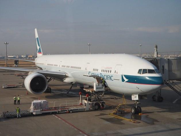 キャセイのCX549便